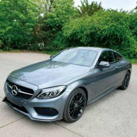 Mercedes C-Klasse Coupe langzeit mieten